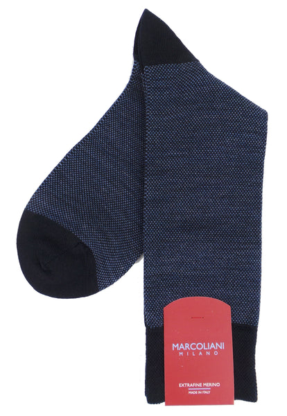 Marcoliani 4060 Extra Fine Merino Birdseye Dress Socks