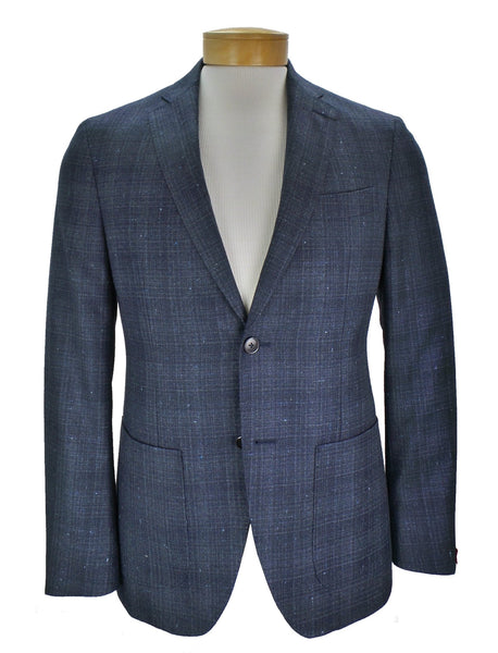 JKT New York Trent Tonal Plaid Wool Blazer