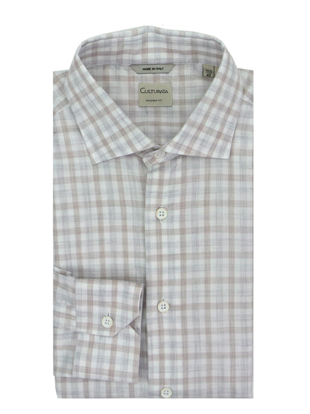 Culturata Natural Comfort Super Soft Gingham Shirt