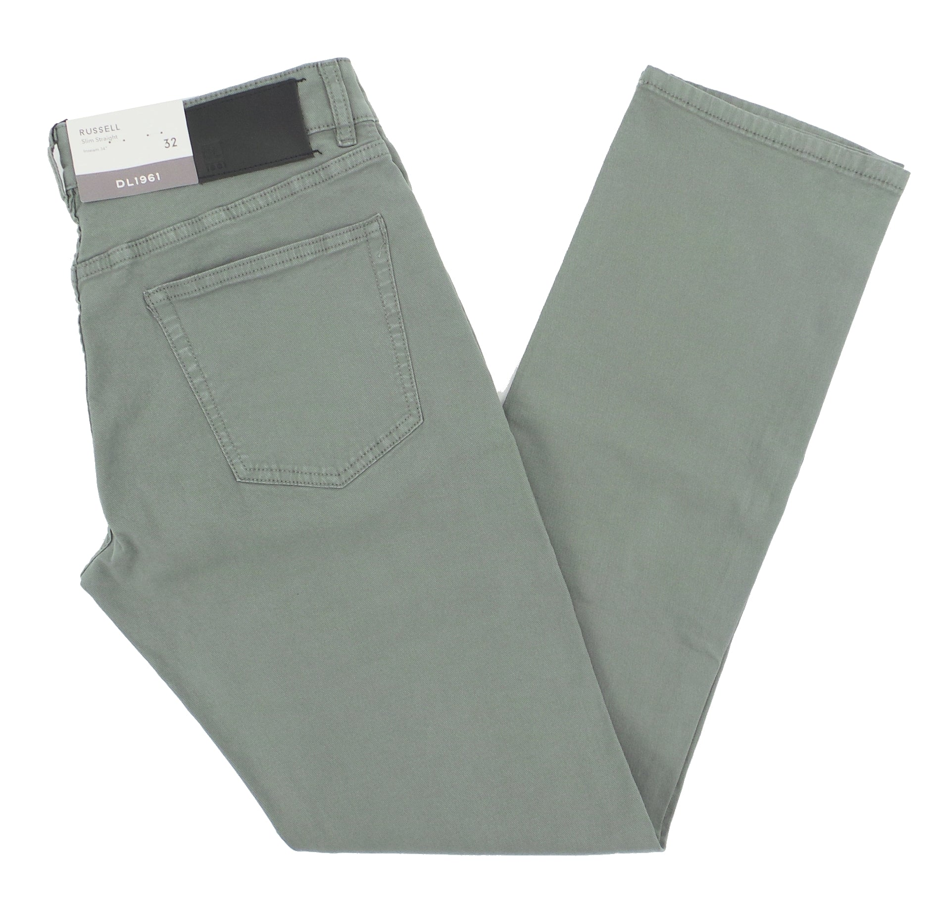DL1961 Russell Slim Straight Soft Structure Twill Pants