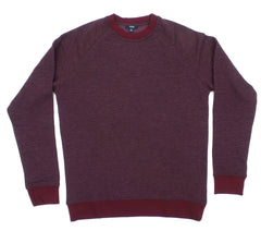 Benson Essential Textured Soft Terry Crew Neck Sweater