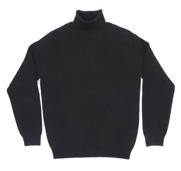 Nove 9 Merino Blend Ribbed Turtle Neck Sweater