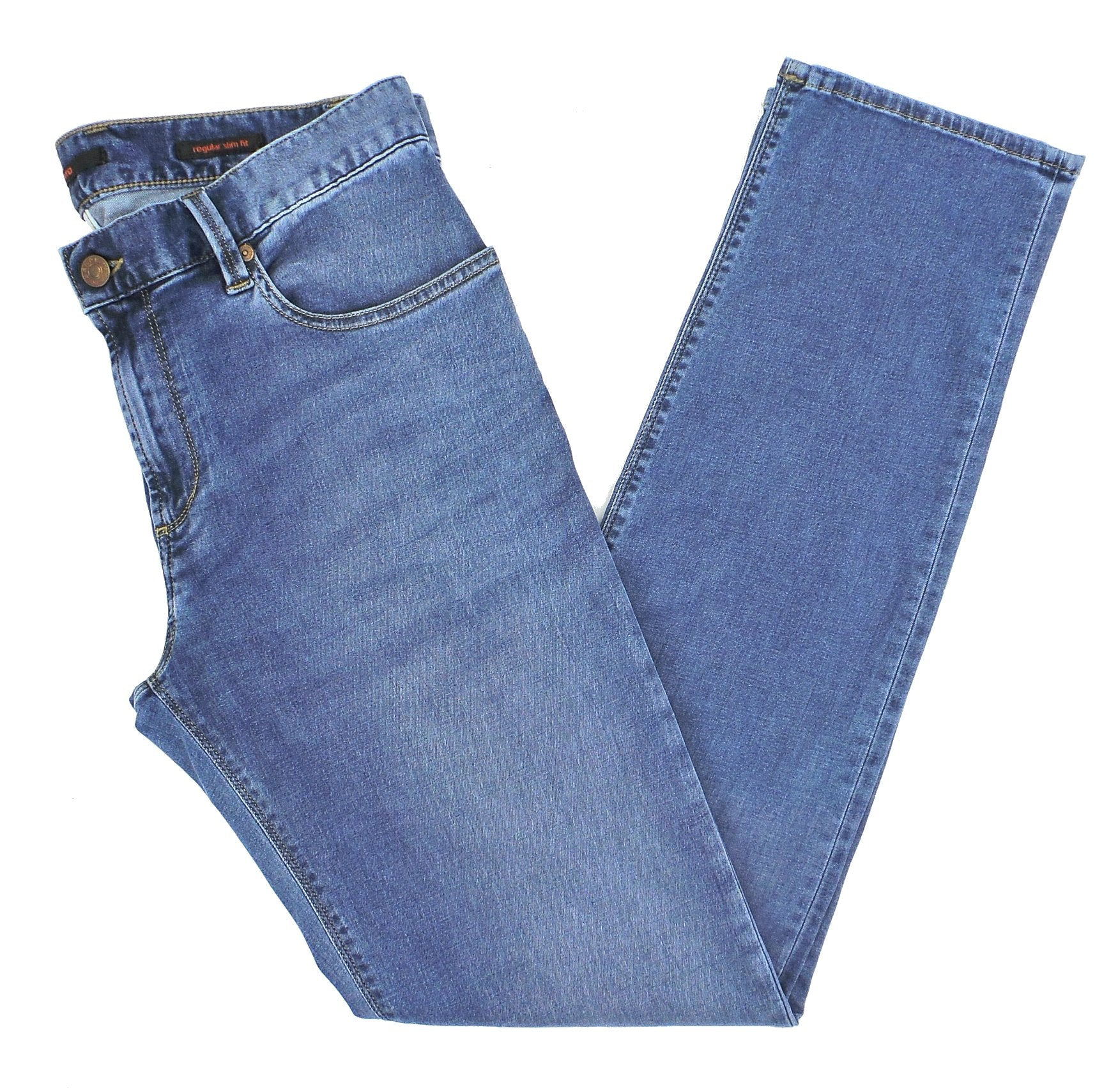Alberto Pipe 1978 Regular Slim Fit Dynamic Superfit Light Tencel Denim Jeans