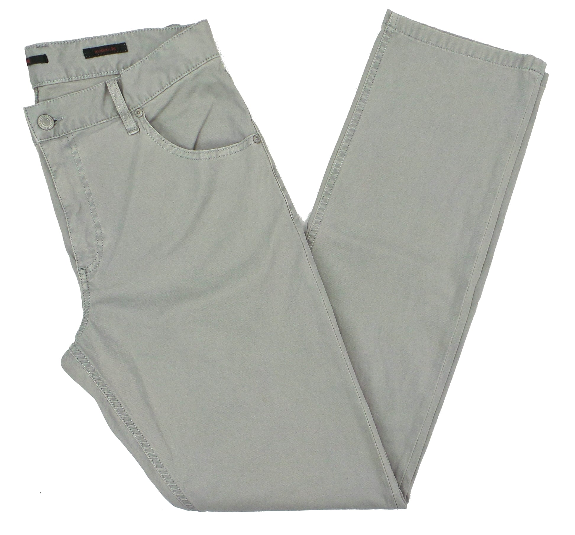 Alberto Stone 1910 Modern Fit Dynamic Superfit Cotele Soft Cotton Pants