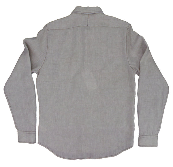 & Sons Garment Co. Natural Linen Subtle Heather LS Shirt