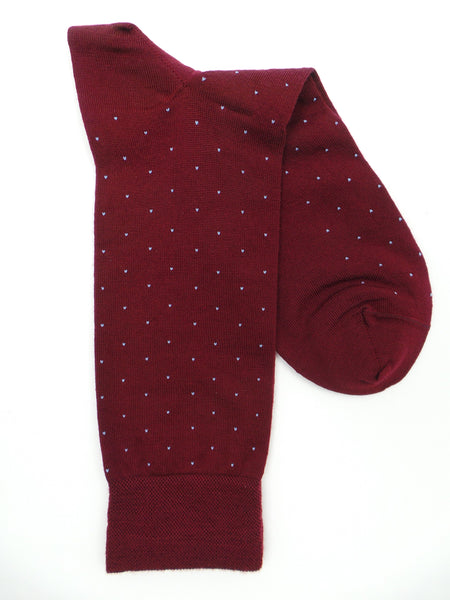 Marcoliani 2812 Extrafine Merino Pindot Dress Socks
