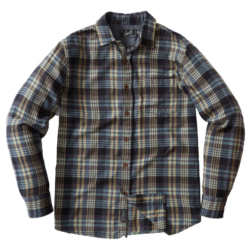 Grayers Sonora Lightweight Brushed Soft Flannel Shirt