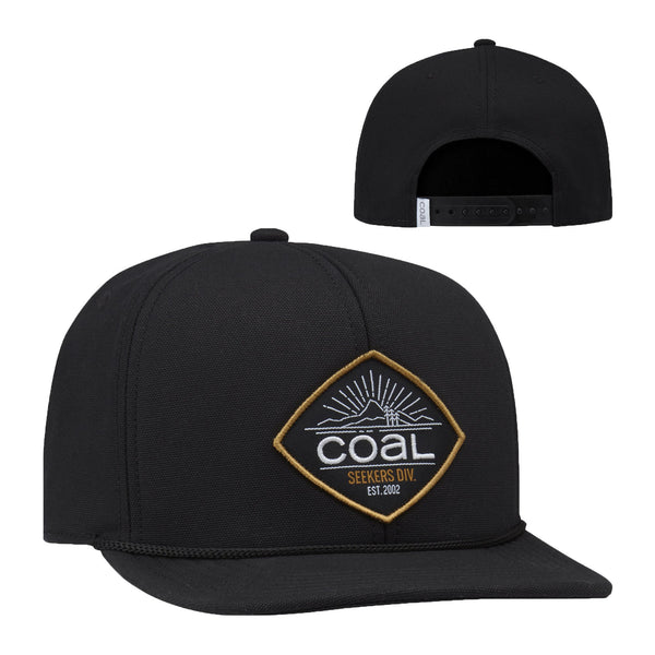 Coal Bend Patch UPF Foam Snapback Cap