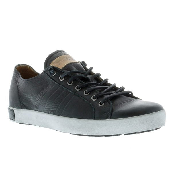 Blackstone Signature Throwback Leather Sneakers