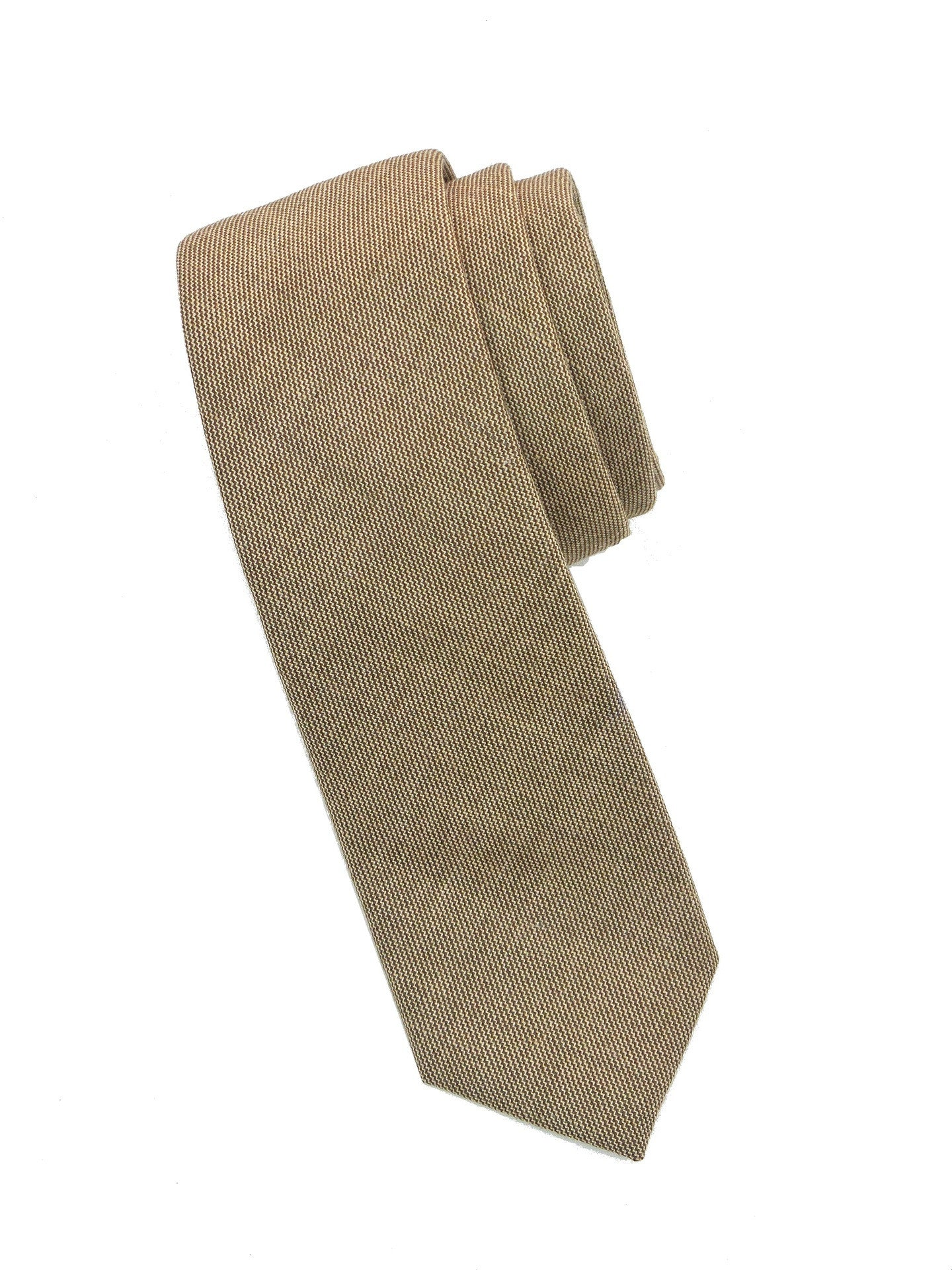 BKLYN Made IN US Silk Wool Solid Tie