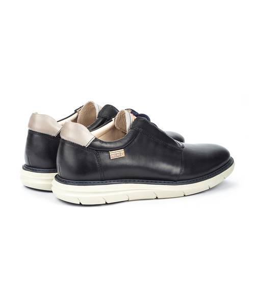 Pikolinos Amberes Strap Lace Leather Sneakers
