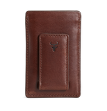 Trask Dawson Magnetic Money Clip Front Pocket Leather Wallet