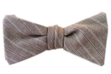 ZB Savoy Made In California Gandolf The Gray Stripe Bowtie