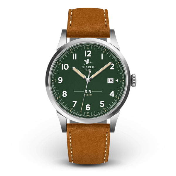Charlie Paris GR Sport Green Miyota Quartz Watch