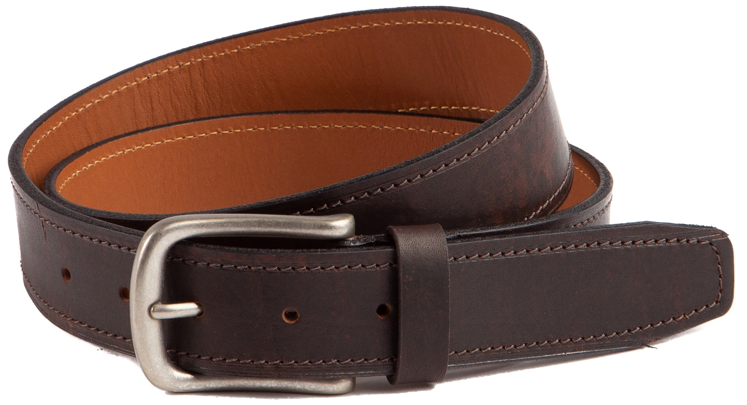 Trask Kaden English Oiled Steer Leather Belt