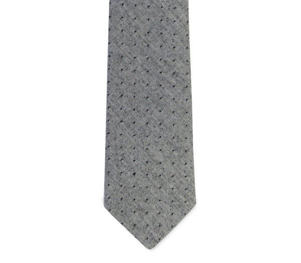 PSC Irving Polka Dot Cotton Chambray Tie