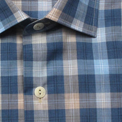 Culturata Subtle Check Summerweight Soft Shirt