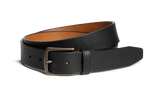 Trask Elkhorn Black Norwegian Elk Leather Belt