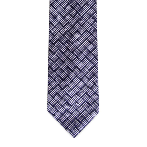 PSC The Kayo Basketweave Woven Pattern Tie