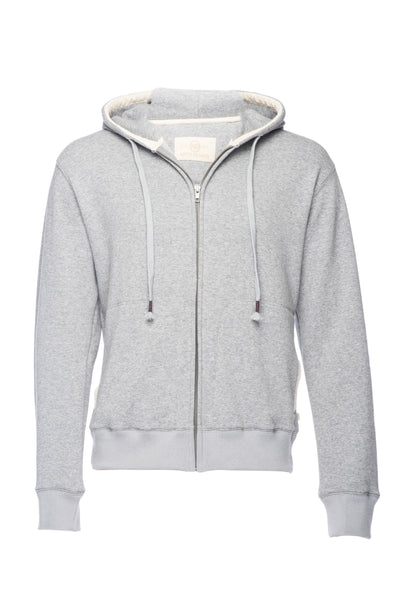 Nifty Genius Heather Grey Soft Velour Interior Hoodie