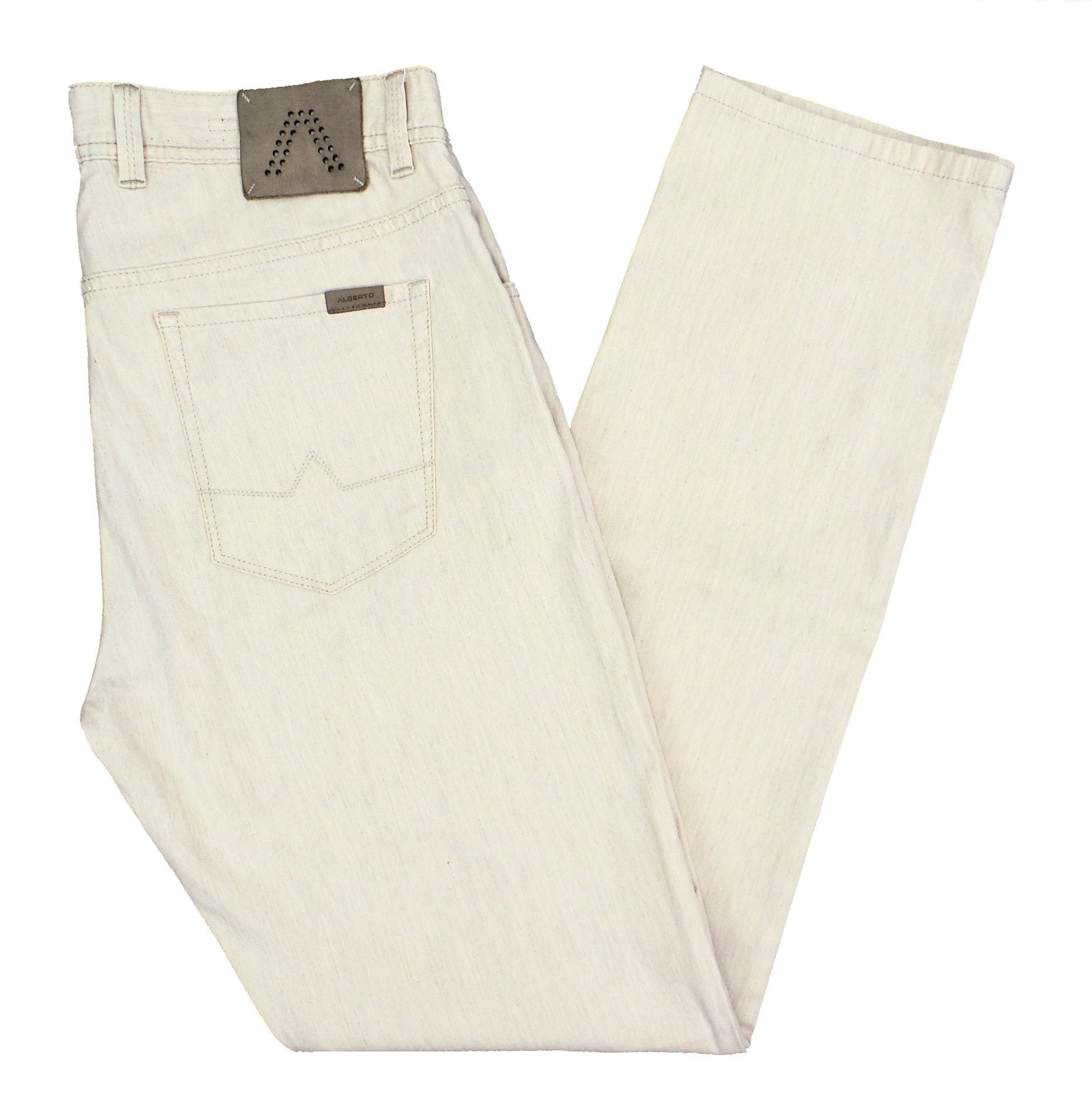Alberto Stone 1931 Modern Fit Linen Stretch Lightweight Pants