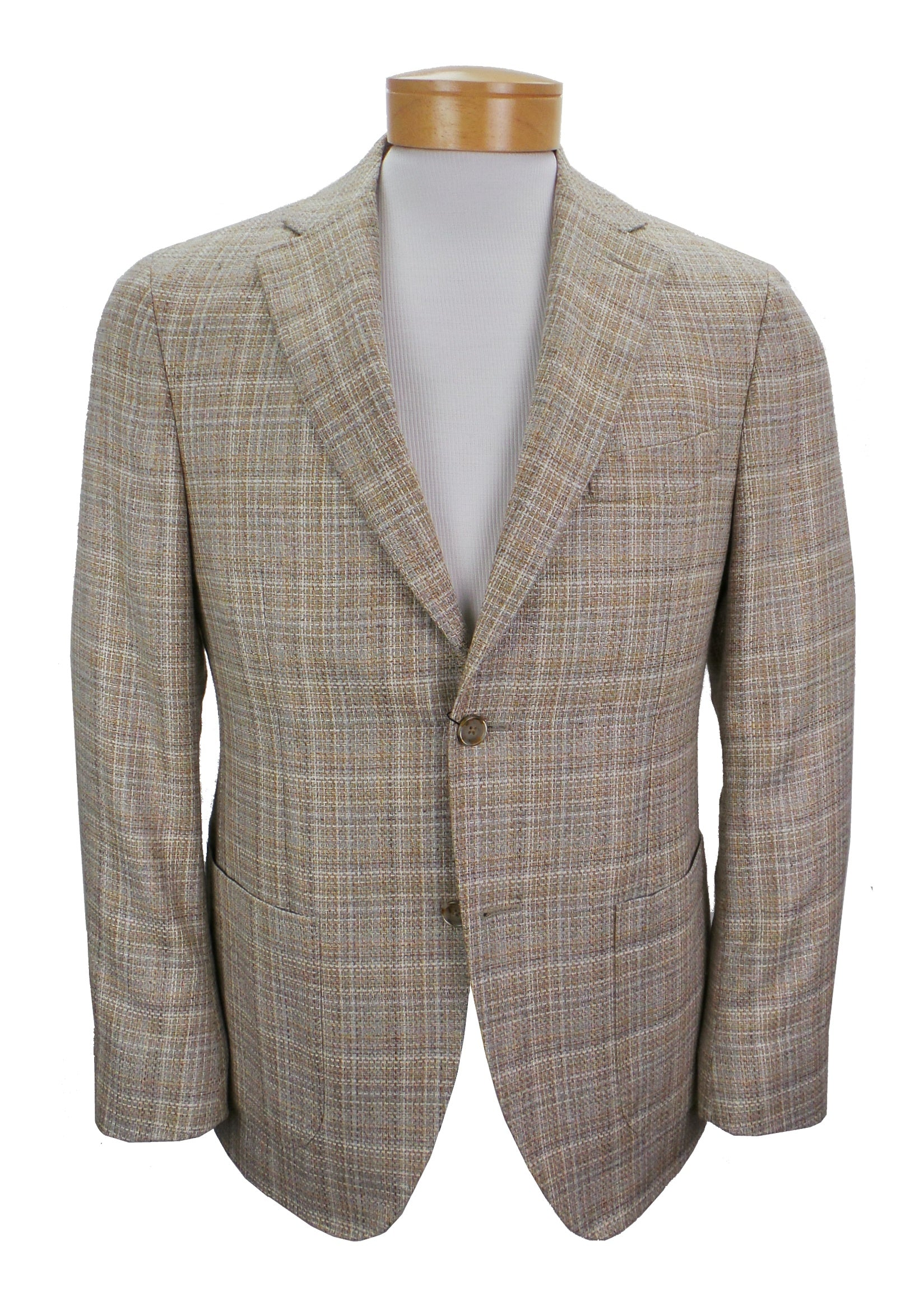JKT New York Trent Lanificio di Pray Mill Basketweave Blazer