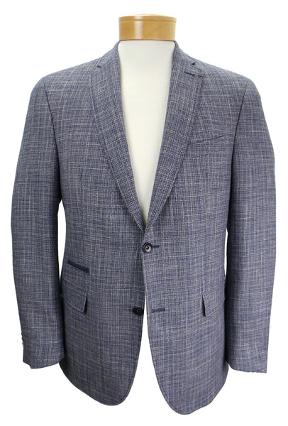 Carl Gross Sakko Textured Wool Blend Blazer