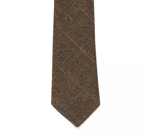 PSC Romero Wool Plaid Tie