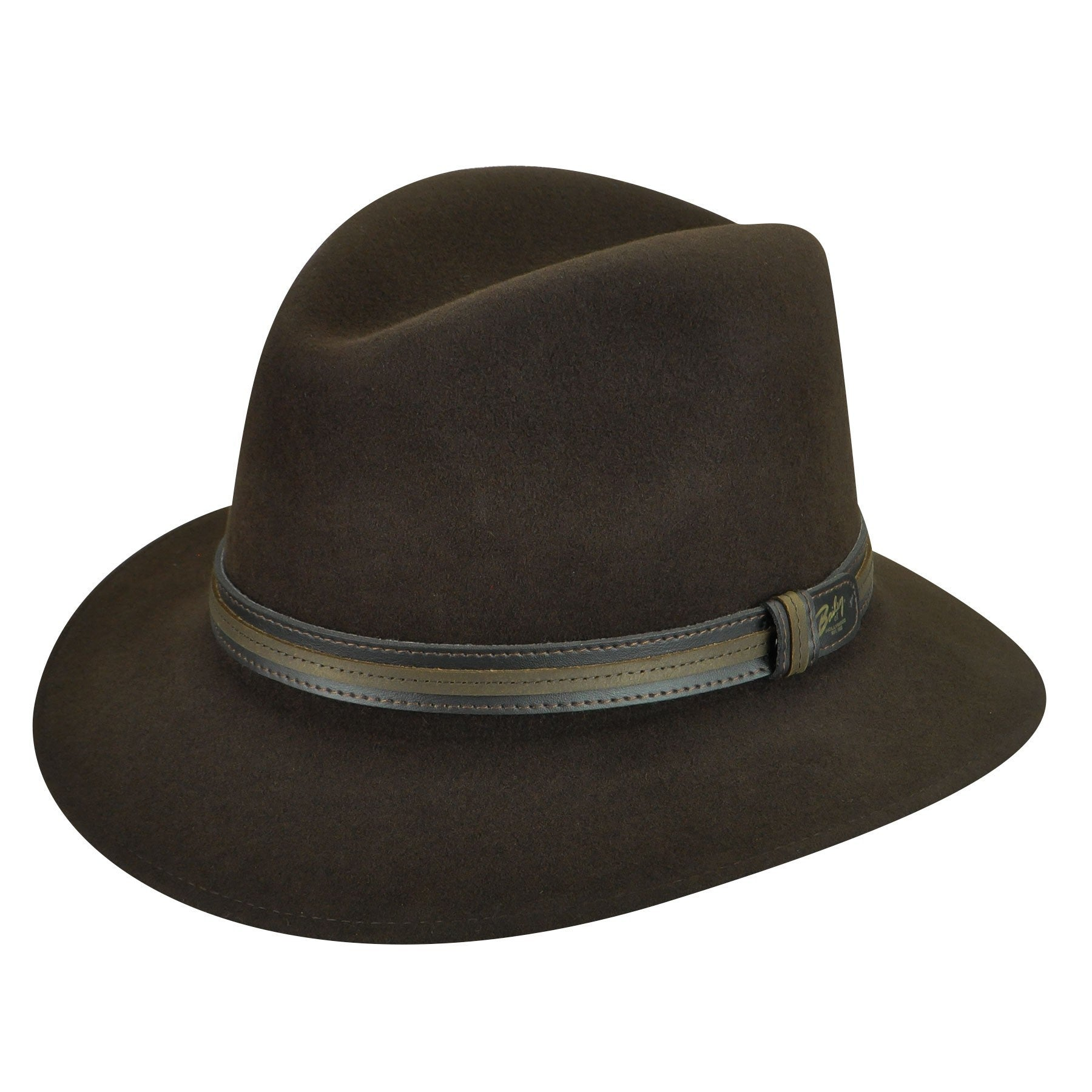 9bf05f1147ba1 Bailey of Hollywood Brandt Fedora Double Leather Band Hat – Seattle ...