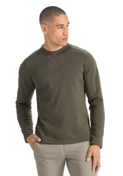 Nau Ultra Soft Midweight Wool Blend Crew Neck Sweater