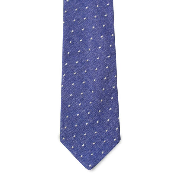 PSC The Hamilton Chambray Dot Pattern Tie