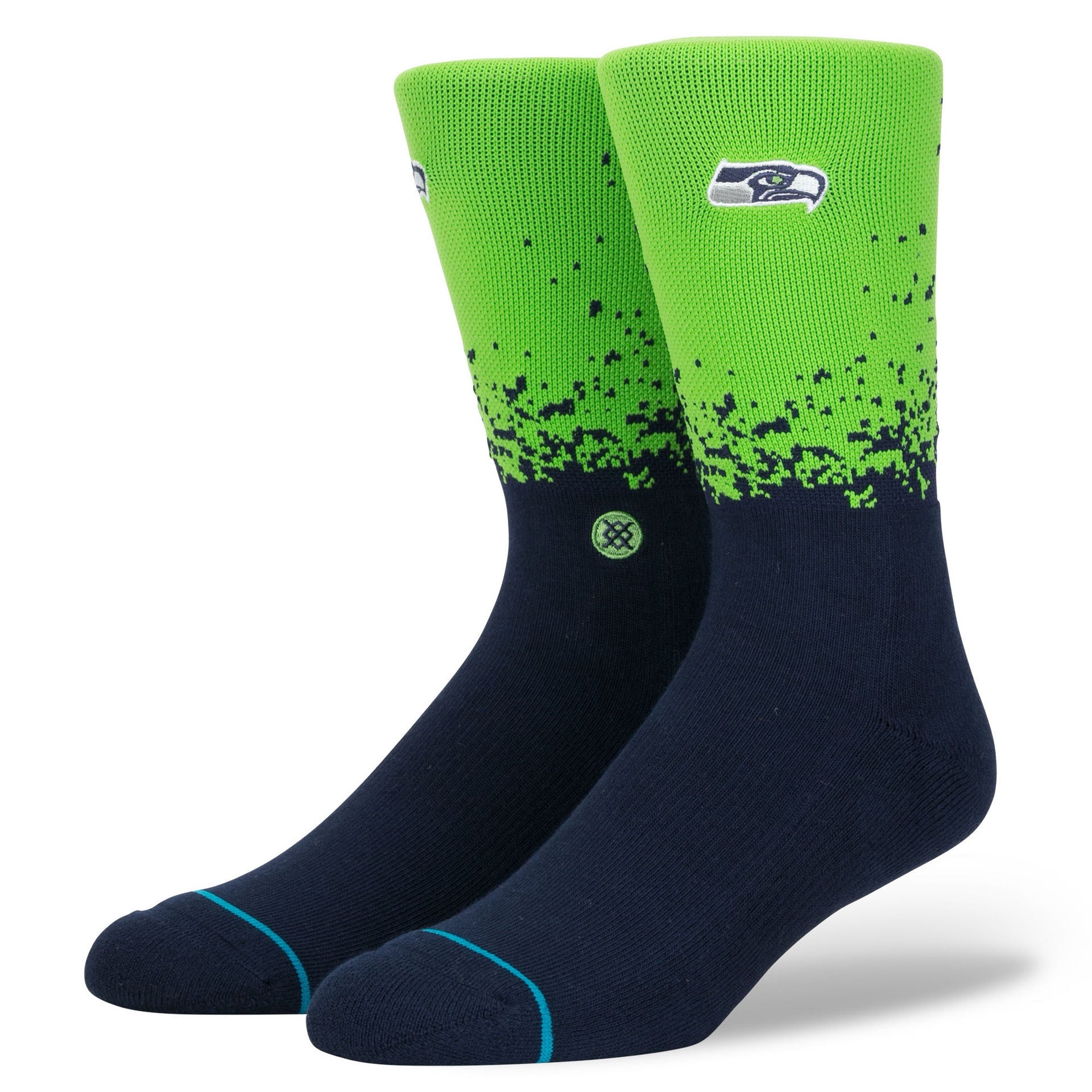 Stance Seahawks Fade Light Cushion Socks