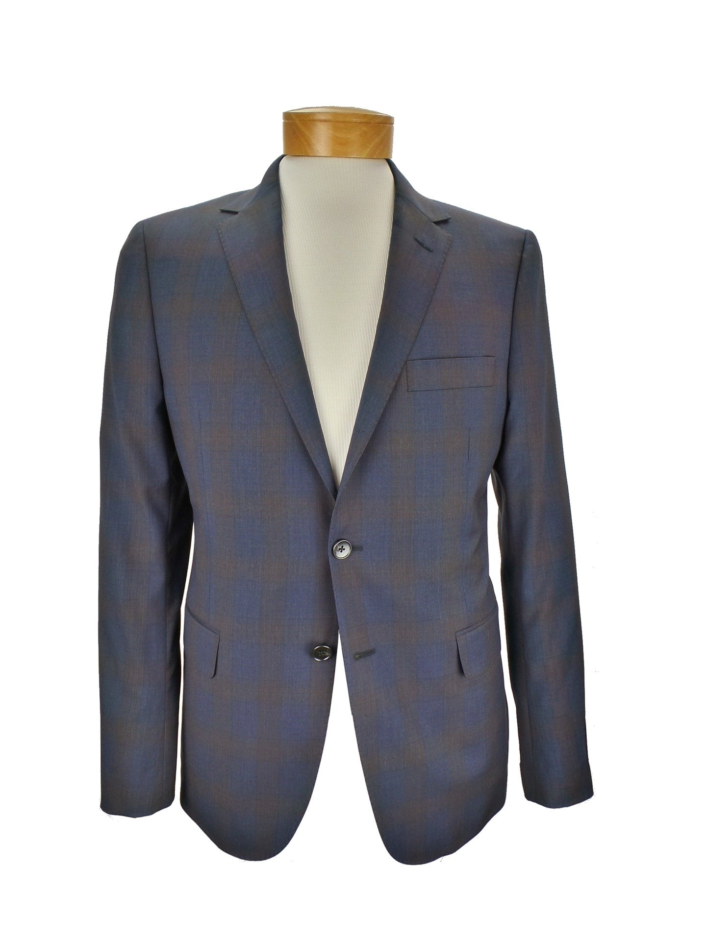 Hickey Freeman h. Amer. Tailor Made in US Perry SB Soft Check Blazer