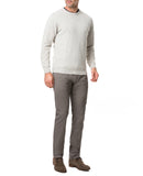 Rodd & Gunn Queenstown Luxury Cashmere Blend Soft Textured Crew Neck Sweater