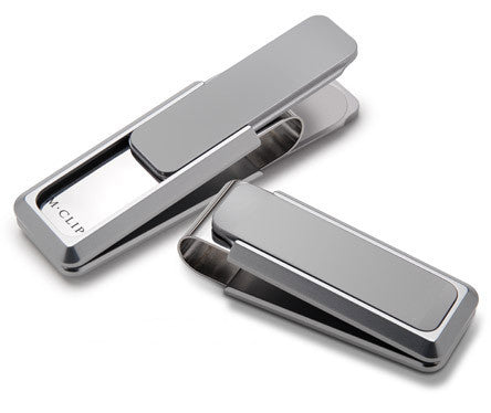 M-Clip Solid Slide UV2 Aircraft Grade Aluminum Money Clip