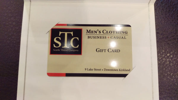 Seattle Thread Company Plastic In-Store Gift Card