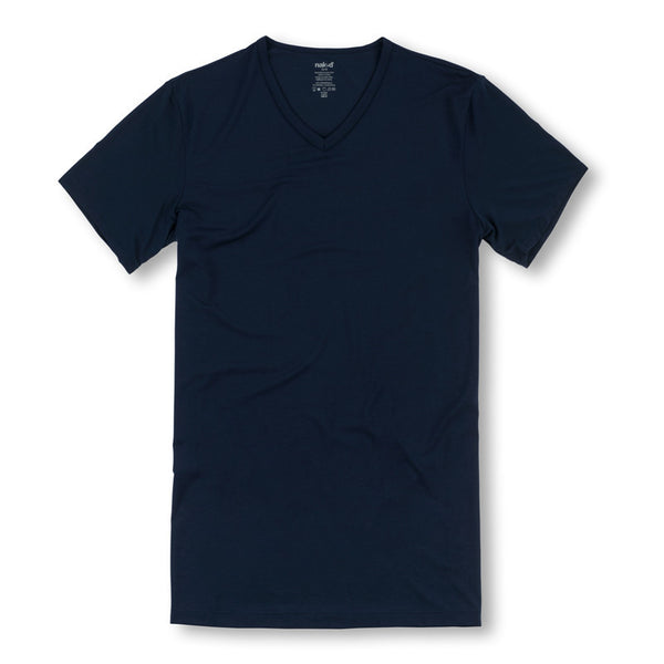 Naked Luxury Micromodal V-Neck T-Shirt