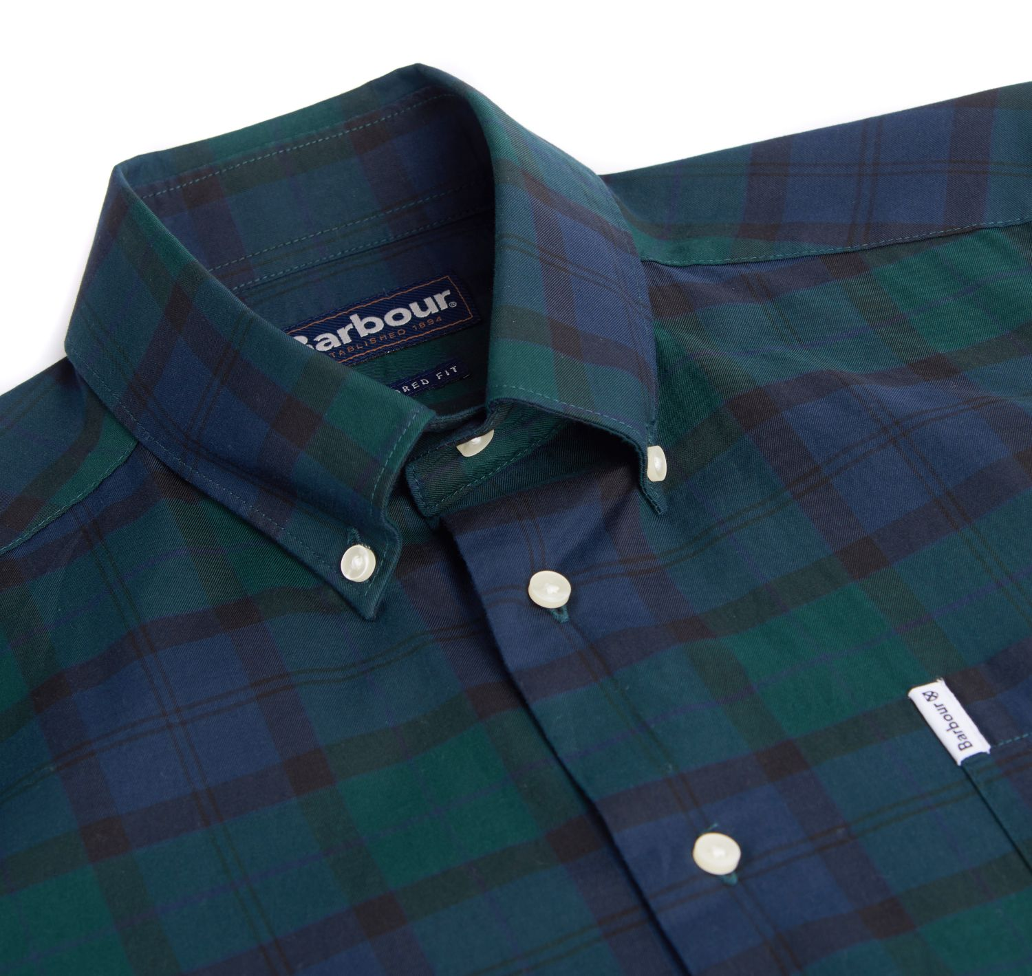 Barbour Wetheram Tartan Lightweight Cotton Shirt