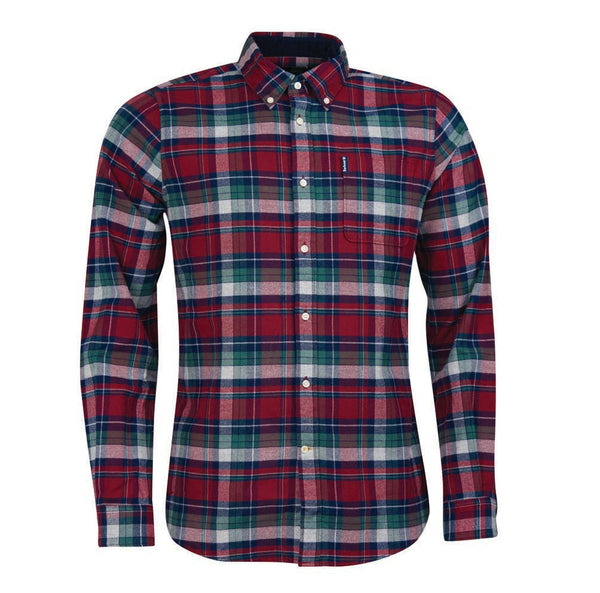 Barbour Highland Check Midweight Brushed Cotton Shirt