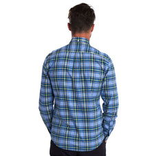 Barbour Highland Check 26 Soft Woven Button Down Shirt