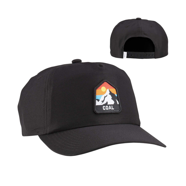 Coal Peak Low Profile Vintage Style Snapback Cap