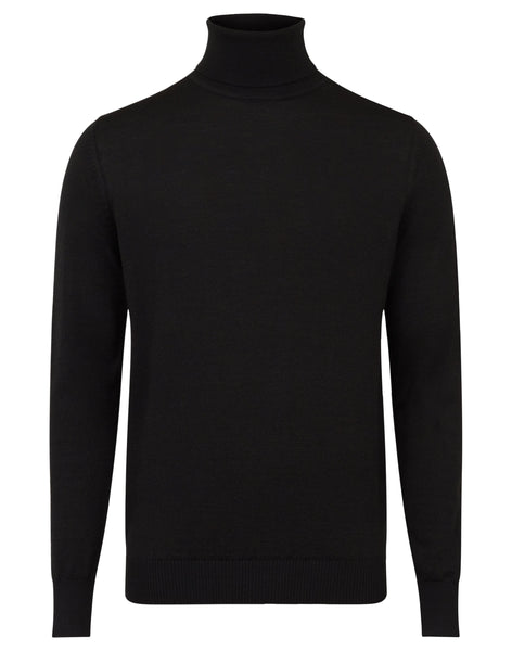 Bruun & Stengade Saturn Wool Blend Turtle Neck Sweater