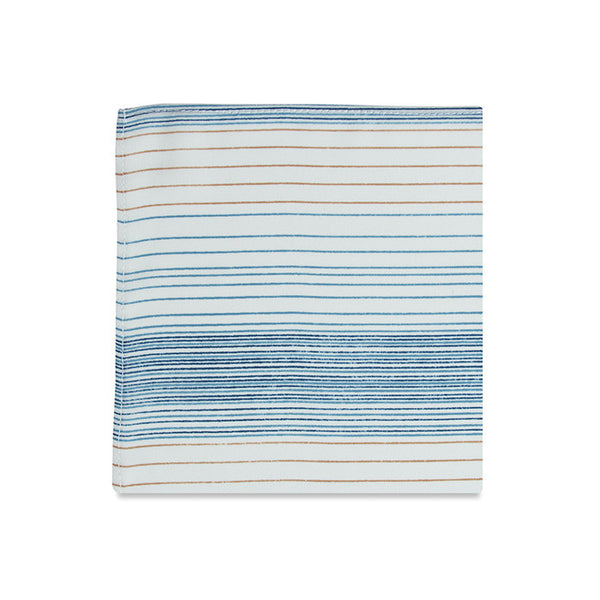 PSC Collison Thin Striped Pocket Square