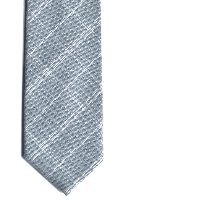 PSC Rochdale Light Plaid Textured Tie