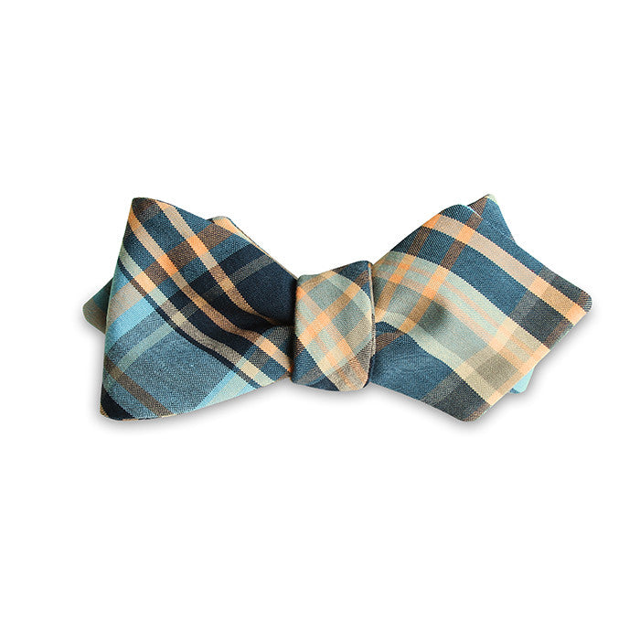 PSC Southern Gent Plaid Cotton Bow Tie