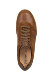 Geox Renan Waxed Leather and Suede Sneakers