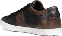 Geox Smart Respira Vintage Leather Sneakers