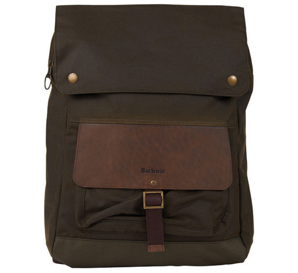 Barbour Waxed Urban Backpack