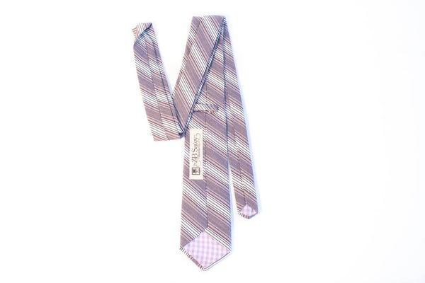 ZB Savoy Made in California Durham Striped Tie