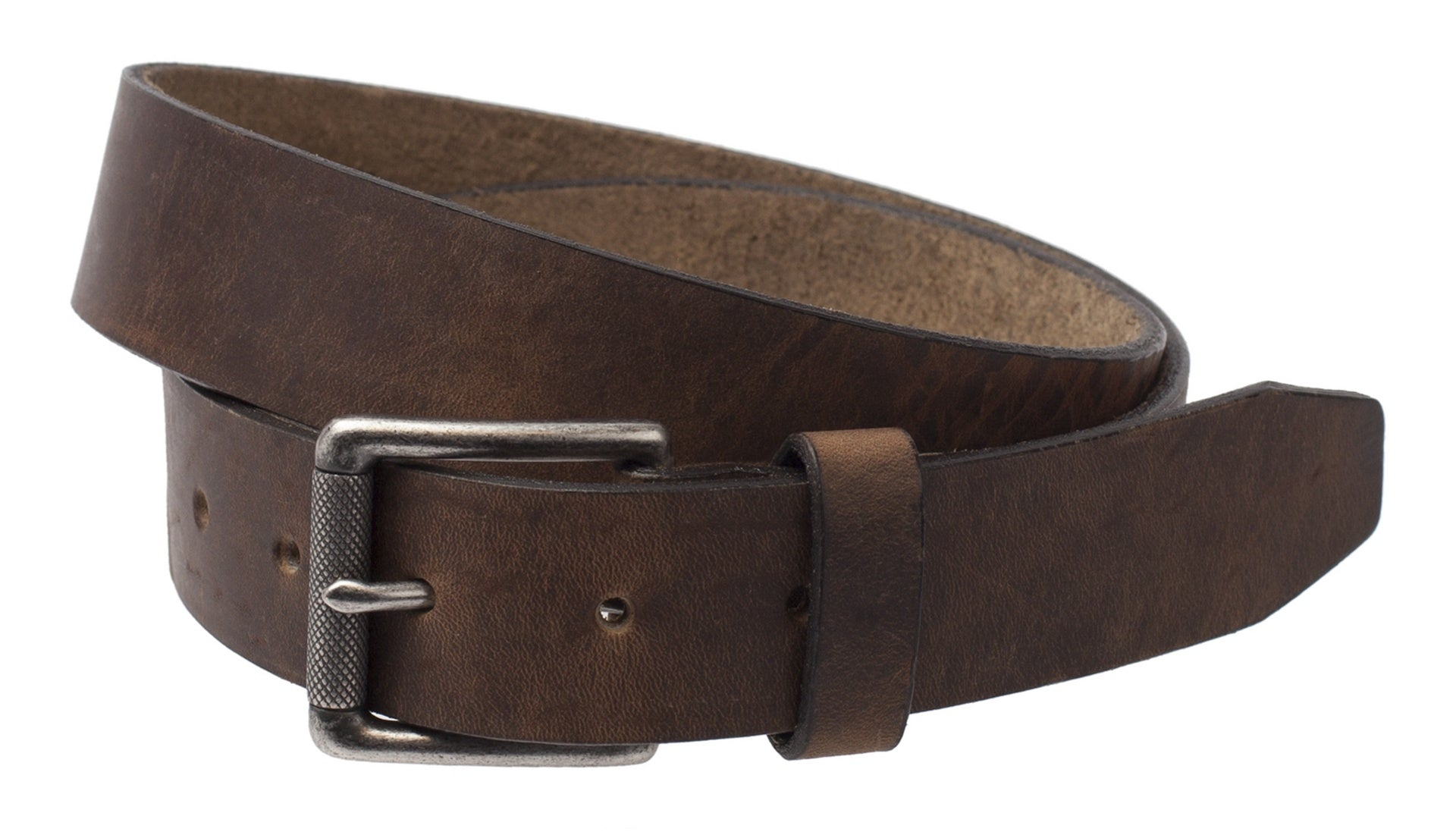 Trask Cash Brown Oiled Horween American Steer Leather Belt